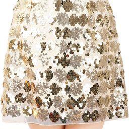 Engood Women's Sexy Sequins Cocktail Mini Skirt Club Dress | Amazon (US)
