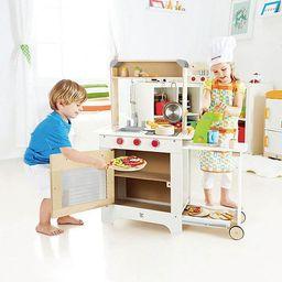Hape Cook 'N Serve Kids Contemporary Design Pretend Play Wooden Cooking Kitchen | Target