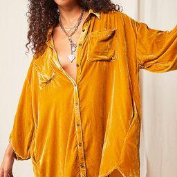 Lux Velvet Shirt Dress | Free People (US)