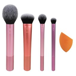 Real Techniques Everyday Essentials 5-Piece Brush Set | Kohl's