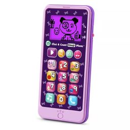LeapFrog Chat and Count Emoji Phone - Purple   Target