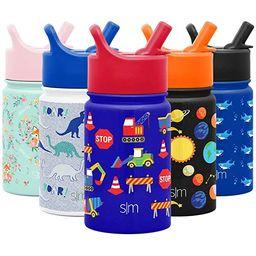 Simple Modern 10oz Disney Summit Kids Water Bottle Thermos with Straw Lid - Dishwasher Safe Vacuu... | Amazon (US)