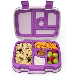 Bentgo Kids Brights – Leak-Proof, 5-Compartment Bento-Style Kids Lunch Box – Ideal Portion Si... | Amazon (US)
