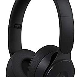 Beats Solo Pro Wireless Noise Cancelling On-Ear Headphones - Apple H1 HeadphoneChip, Class 1 Bl... | Amazon (US)