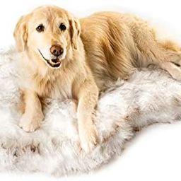 Treat A Dog Puprug Faux Fur Memory Foam Orthopedic Dog Bed, Premium Memory Foam Base, Ultra-Soft ... | Amazon (US)