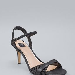 Women's Strappy Heels by White House Black Market, Black, Size 11   White House Black Market