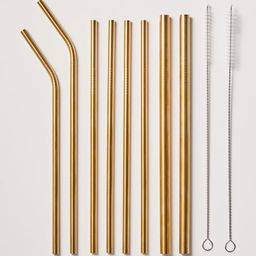 Variety Stainless Steel Straw Set   Urban Outfitters (US and RoW)