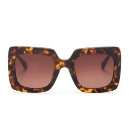 SASHA - AMBER TORTOISE + BROWN GRADIENT | DIFF Eyewear