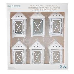 White Mini Lanterns by Ashland®   Michaels Stores