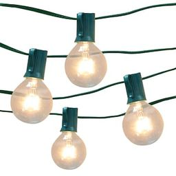 16ct. Round G40 Bulb String Lights by Ashland™   Michaels Stores