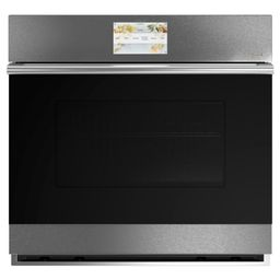 30 in. Smart Single Electric Wall Oven with Convection Self-Cleaning in Platinum Glass | The Home Depot