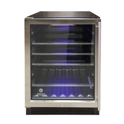 Vinotemp 23.4 in. 161 Can Beverage Cooler-EL-46WCBC-L - The Home Depot | The Home Depot
