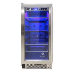 Vinotemp 15 in. 68 Can Beverage Cooler-EL-33WCBC-L - The Home Depot | The Home Depot