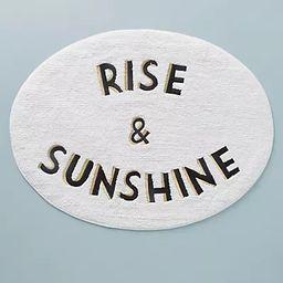 Rise & Sunshine Bath Mat | Anthropologie (US)