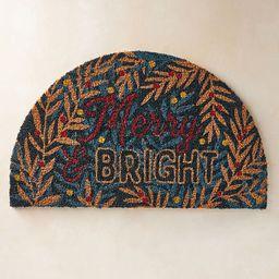 Merry & Bright Doormat | Anthropologie (US)