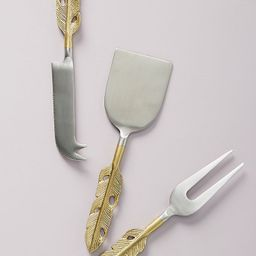 Isabella Cheese Knives, Set of 3 | Anthropologie (US)