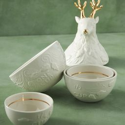 Dasher Reindeer Measuring Cups, Set of 4 | Anthropologie (US)