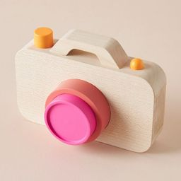 Wooden Camera Toy | Anthropologie (US)