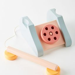 Wooden Telephone Toy   Anthropologie (US)