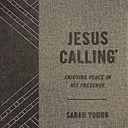 Jesus Calling, Enjoying Peace in His Presence, textured gray leathersoft, with full Scriptures | Amazon (US)