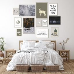 Cottage Cozy Christmas Set of 12 Prints, Christmas Prints, Christmas Art, Christmas Printable Wal...   Etsy (US)