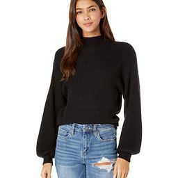 BB Dakota Mock of Ages Sweater (Black) Women's Clothing   Zappos