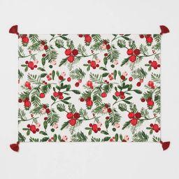 Cotton Berries Print Placemat - Threshold™   Target