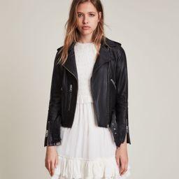 Balfern Leather Biker Jacket | All Saints US
