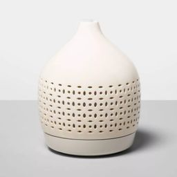 300ml Cutout Ceramic Color-Changing Oil Diffuser White - Opalhouse™   Target