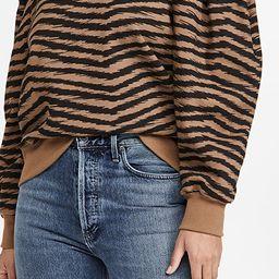 AGOLDE Folded Sleeve Sweatshirt | SHOPBOP | Black Friday Save 20% On Orders $200+ | Shopbop