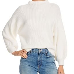 Line & Dot Funnel Neck Ribbed Sweater - 100% Exclusive  Women - Bloomingdale's | Bloomingdale's (US)