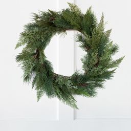 Forest Pine Mix Wreath   McGee & Co.