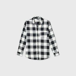 Women's Plaid Long Sleeve Button-Down Shirt - Universal Thread™   Target