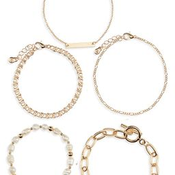 Set of 5 BraceletsBP.Price$12.00FREE SHIPPINGGet a $60 Bonus Note when you use a new Nordstrom cr...   Nordstrom