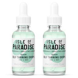 Isle of Paradise Self-Tanning Drops Duo   QVC
