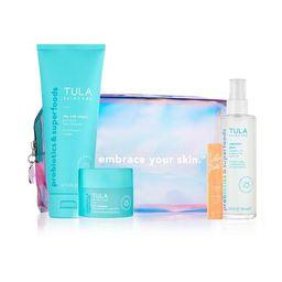 brightening & hydrating skin essentials   Tula Skincare