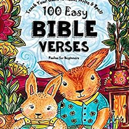 Teach Your Child to Read, Write and Spell: 100 Easy Bible Verses - Psalms (Christian Family Homes... | Amazon (US)