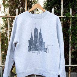 East Coast / West Coast Graphic Sweatshirt   Etsy (US)