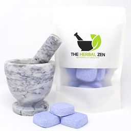 Sleepytime Shower Steamers with Lavender and Roman Chamomile by The Herbal Zen 10-pk Aromatherapy... | Amazon (US)