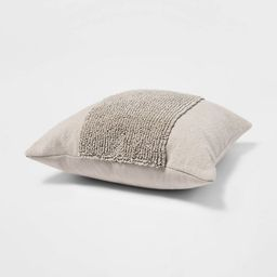 """18""""x18"""" Square Modern Tufted Throw Pillow - Project 62™ 