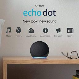 All-new Echo Dot (4th Gen) | Smart speaker with Alexa | Charcoal | Amazon (US)