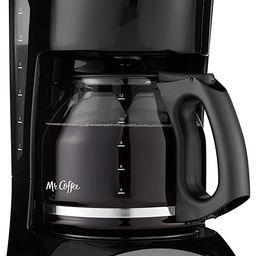 Mr. Coffee 12-Cup Coffee Maker, Black | Amazon (US)