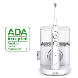 Waterpik Sonic-Fusion Professional Flossing Toothbrush, Electric Toothbrush & Water Flosser Combo... | Amazon (US)