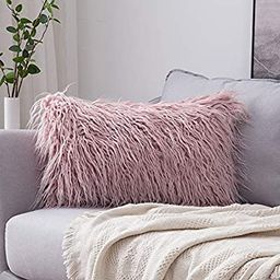 MIULEE Decorative New Luxury Series Style Faux Fur Throw Pillow Case Cushion Cover for Sofa Bedro...   Amazon (US)
