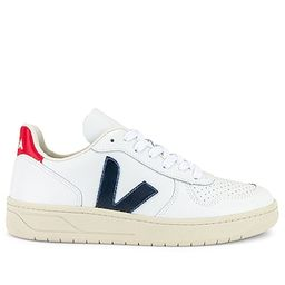 Veja V-10 Sneaker in White. - size 36 (also in 37, 38, 39, 40, 41)   Revolve Clothing (Global)