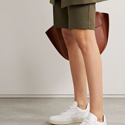 White + NET SUSTAIN V-10 leather sneakers   Veja   NET-A-PORTER   Net-a-Porter (US)