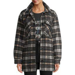 EV1 from Ellen DeGeneres Women's Oversized Shirt Jacket | Walmart (US)