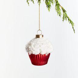 Cupcake Christmas Tree Ornament | Crate and Barrel | Crate & Barrel