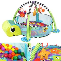 3-in-1 Baby Activity Gym Game Play Crawling Mat Baby Playing Mat Toys Ball Pit Kids Activity Carp...   Walmart (US)
