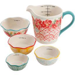 The Pioneer Woman 5-Piece Prep Set, Measuring Bowls & Cup | Walmart (US)